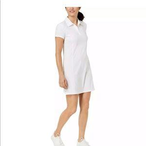 Ideology White Golf Tennis Polo Dress Small